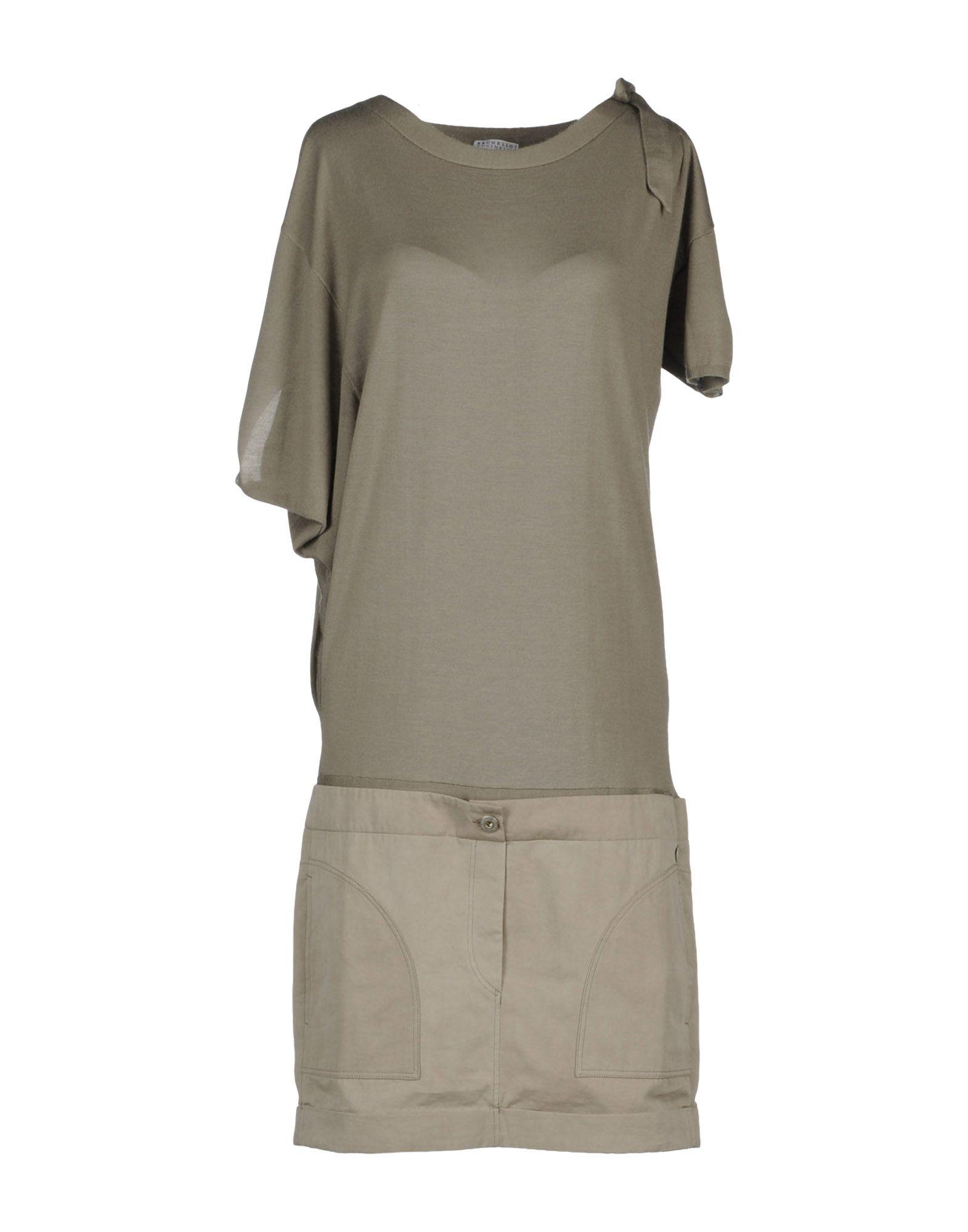 BRUNELLO CUCINELLI Платье длиной 3/4