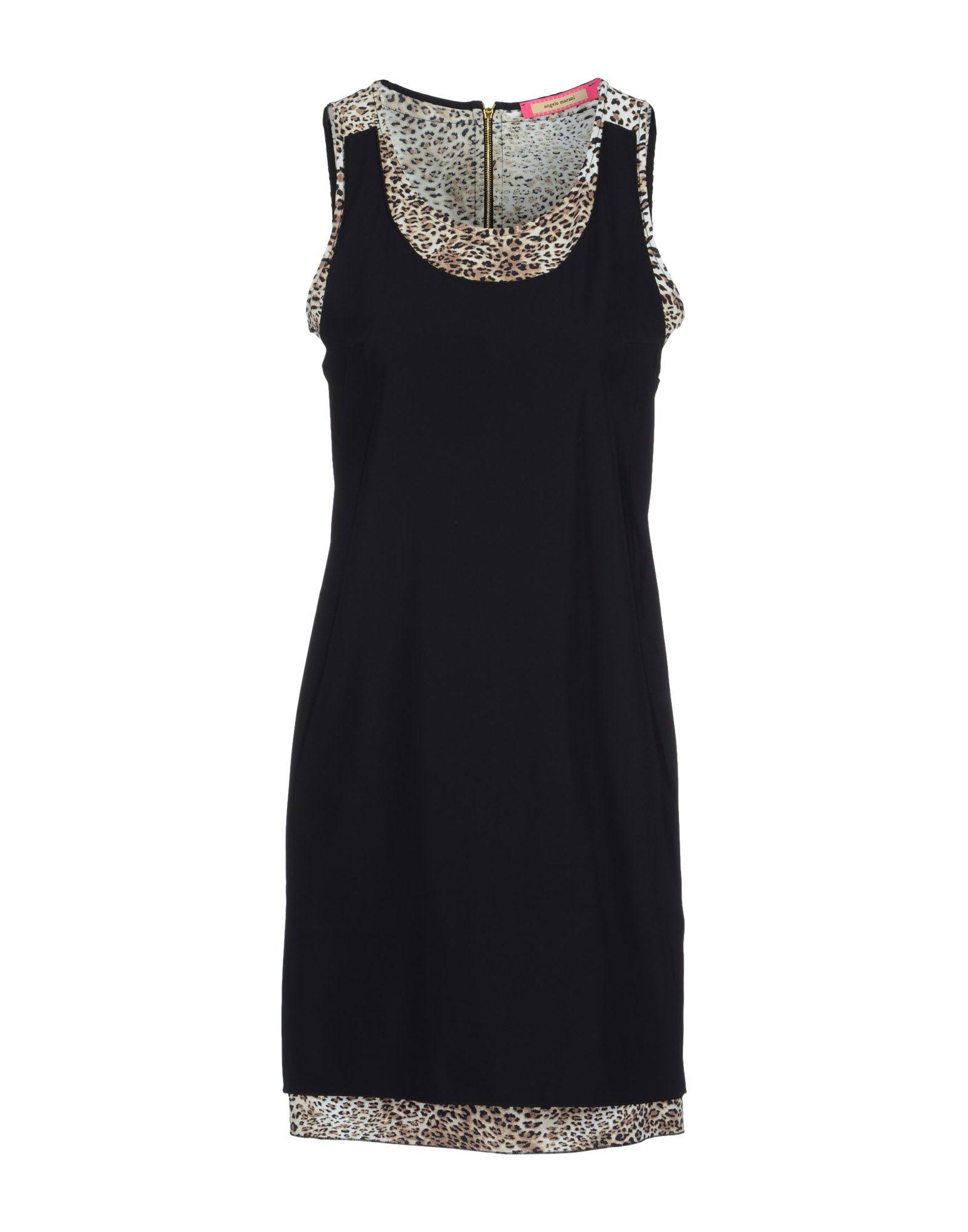 ANGELO MARANI Короткое платье angelo marani beachwear топ без рукавов