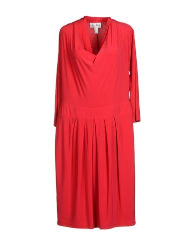 Фото - Платье до колена от JOSEPH RIBKOFF цвета фуксия