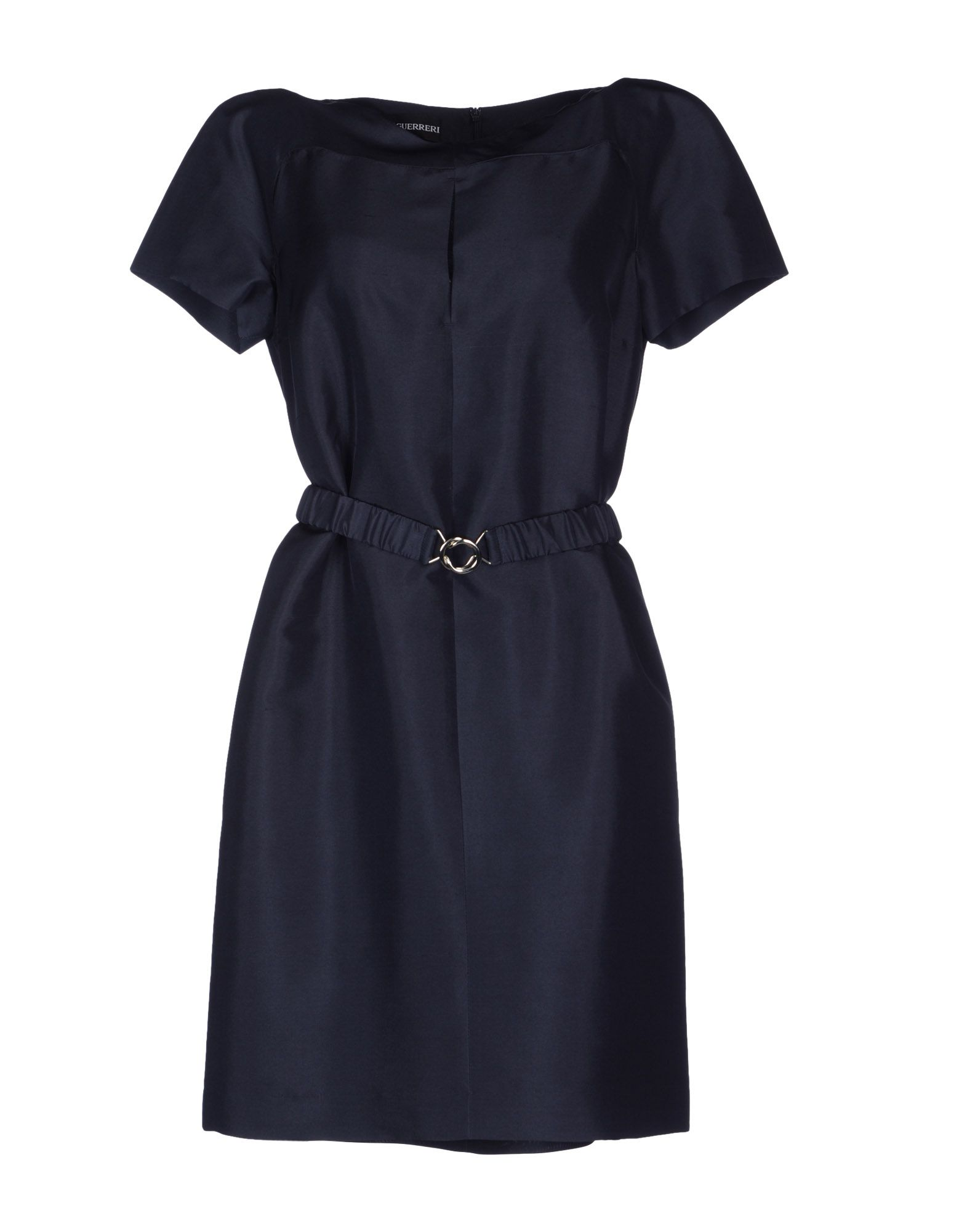GIO' GUERRERI Short Dress in Dark Blue