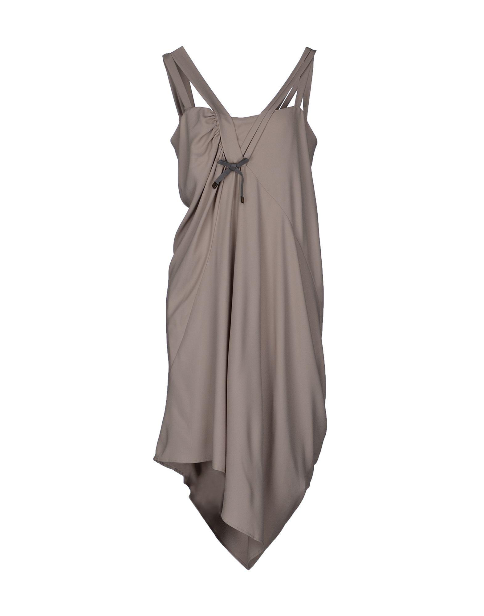 Фото - LIU •JO Платье длиной 3/4 брошь blucome bijouteria esmaltes 7106100495
