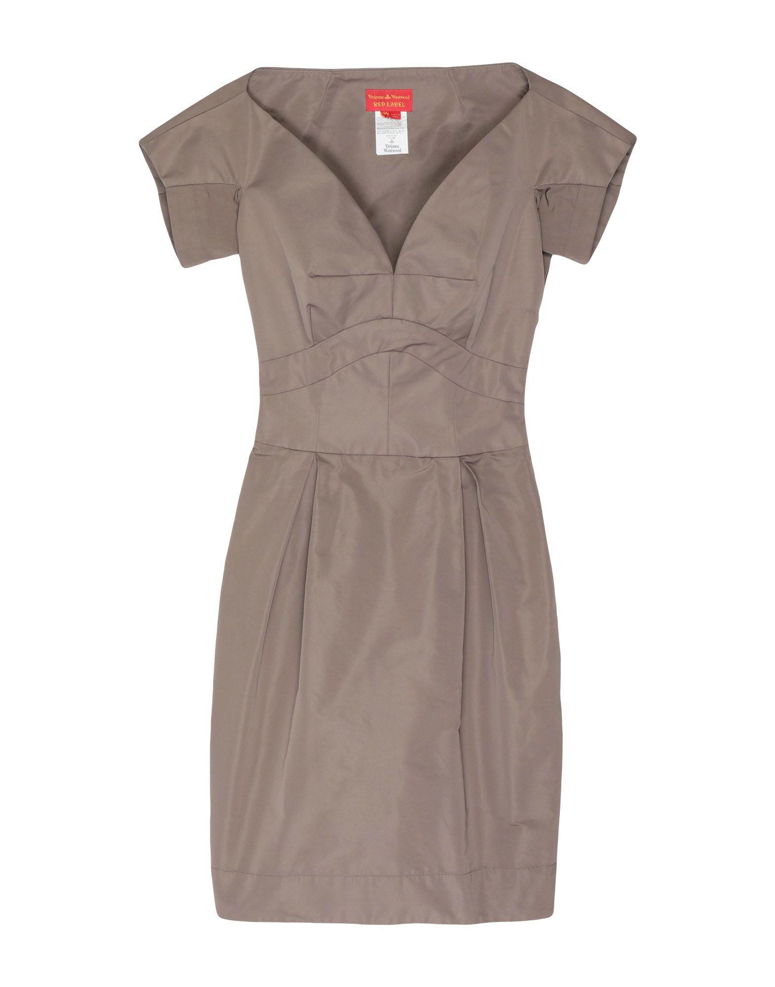 Фото - VIVIENNE WESTWOOD RED LABEL Короткое платье vivienne westwood red label длинное платье