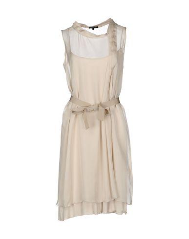 Фото SILK AND SOIE Короткое платье. Купить с доставкой