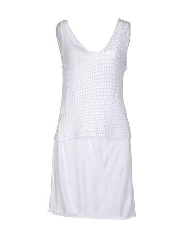 Фото MANOSTORTI Короткое платье. Купить с доставкой