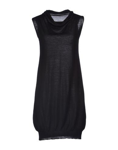 Купить Женское короткое платье DRUMOHR черного цвета