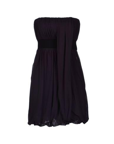 Фото TWIN-SET Simona Barbieri Короткое платье. Купить с доставкой