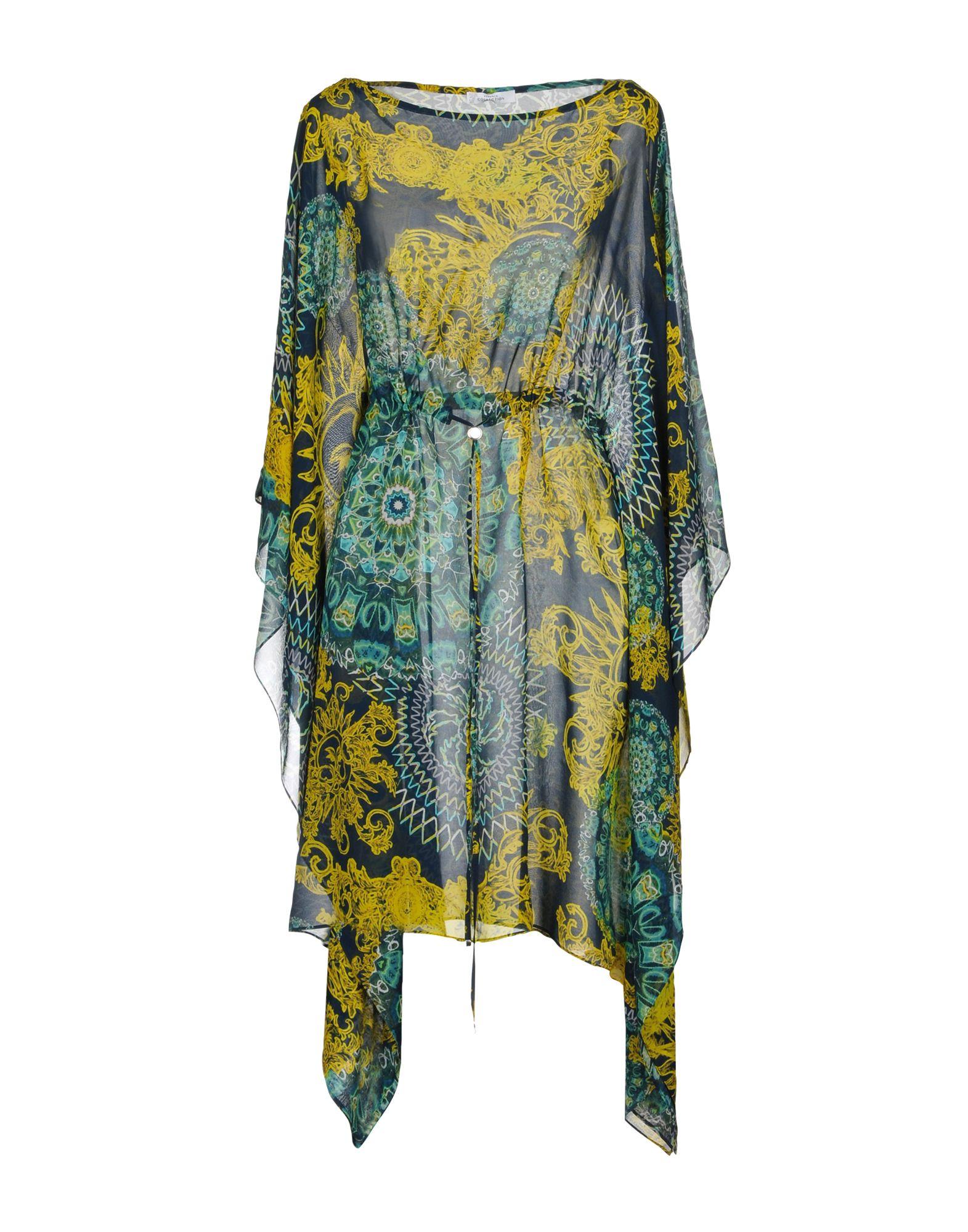 VERSACE COLLECTION Короткое платье футболка versace разноцветный