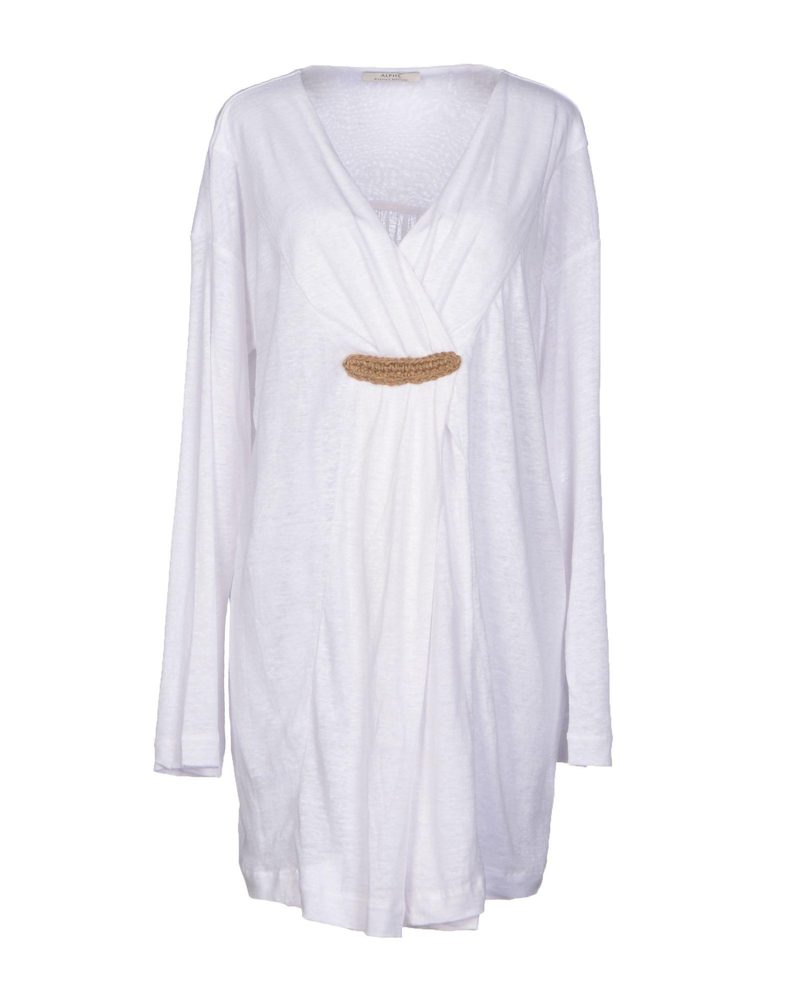 ALPHA MASSIMO REBECCHI Короткое платье alpha massimo rebecchi футболка