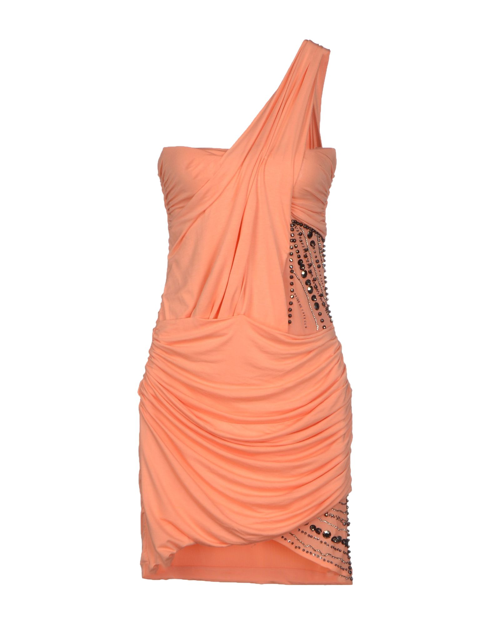 MET MIAMI COCKTAIL Damen Kurzes Kleid Farbe Lachs Größe 4