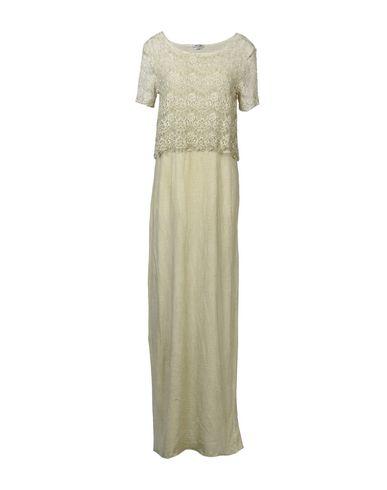 Фото - Женское длинное платье  бежевого цвета