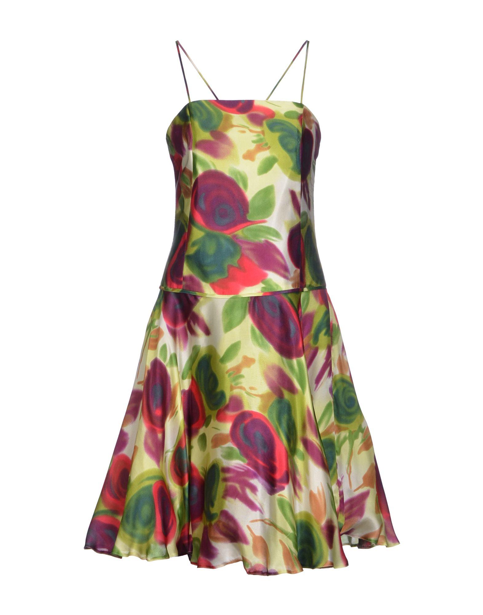 SWING Damen Kurzes Kleid Farbe Hellgrün Größe 3