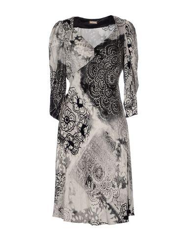 Купить Платье до колена серого цвета