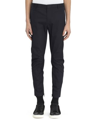 LANVIN Pants U COTTON GABARDINE BIKER PANTS F