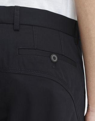 LANVIN COTTON GABARDINE BIKER PANTS Pants U b