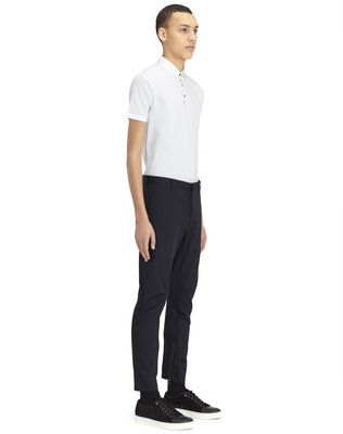 LANVIN COTTON GABARDINE BIKER PANTS Pants U e