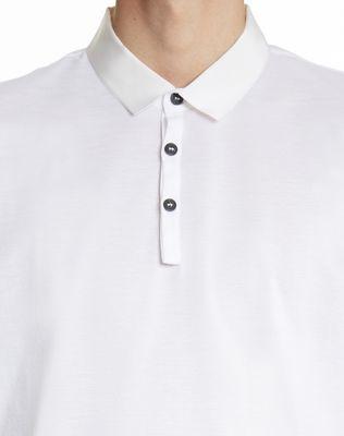 LANVIN SLIM-FIT PIQUÉ POLO SHIRT Polos & T-Shirts U b