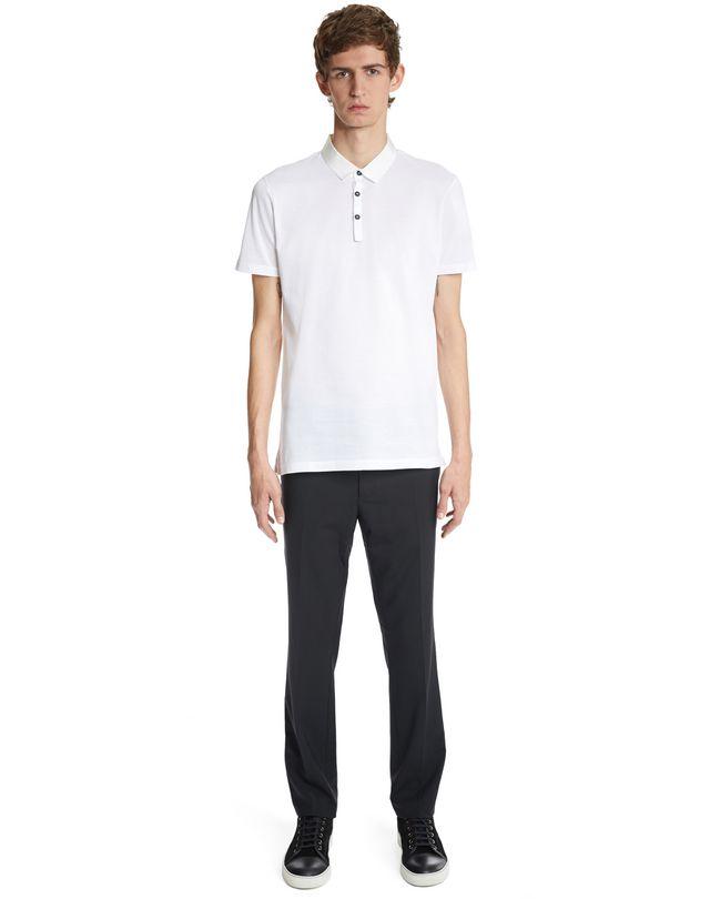 LANVIN SLIM-FIT PIQUÉ POLO SHIRT Polos & T-Shirts U r