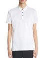 LANVIN Polos & T-Shirts Man SLIM-FIT PIQUÉ POLO SHIRT f