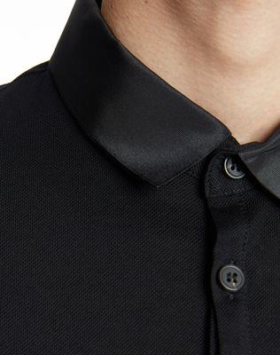 LANVIN SLIM-FIT PIQUÉ POLO SHIRT Polos & T-Shirts U a