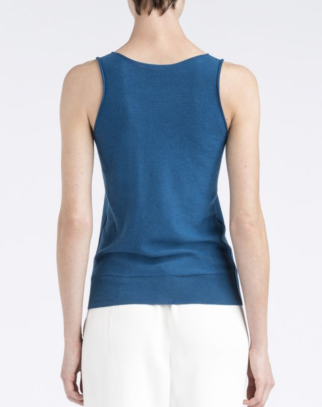 Sleeveless Top With Lanvin 125 Ans Logo, Top Women ...