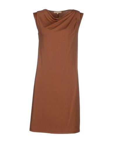 Короткое платье размер 42, 44 цвет коричневый