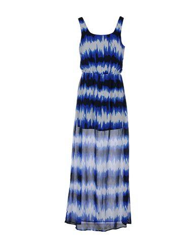 Фото - Женское длинное платье  синего цвета