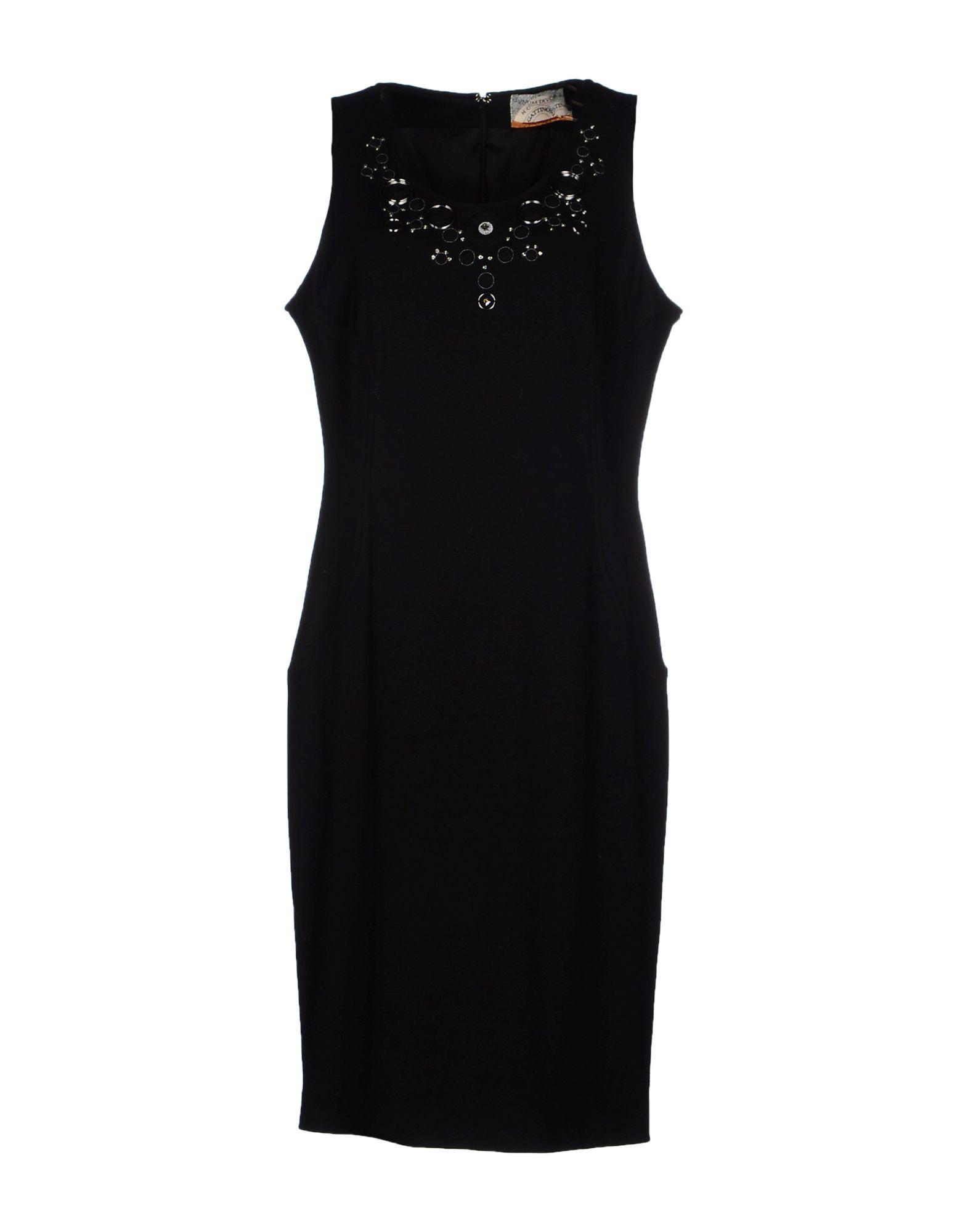 GATTINONI Платье длиной 3/4 gattinoni кардиган