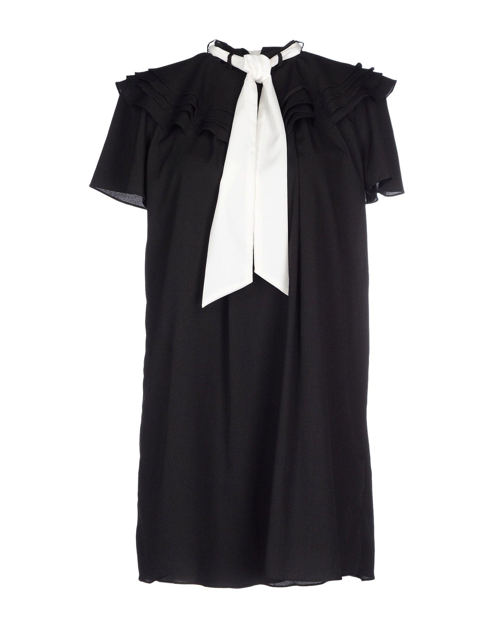 SISTER JANE Damen Kurzes Kleid Farbe Schwarz Größe 5