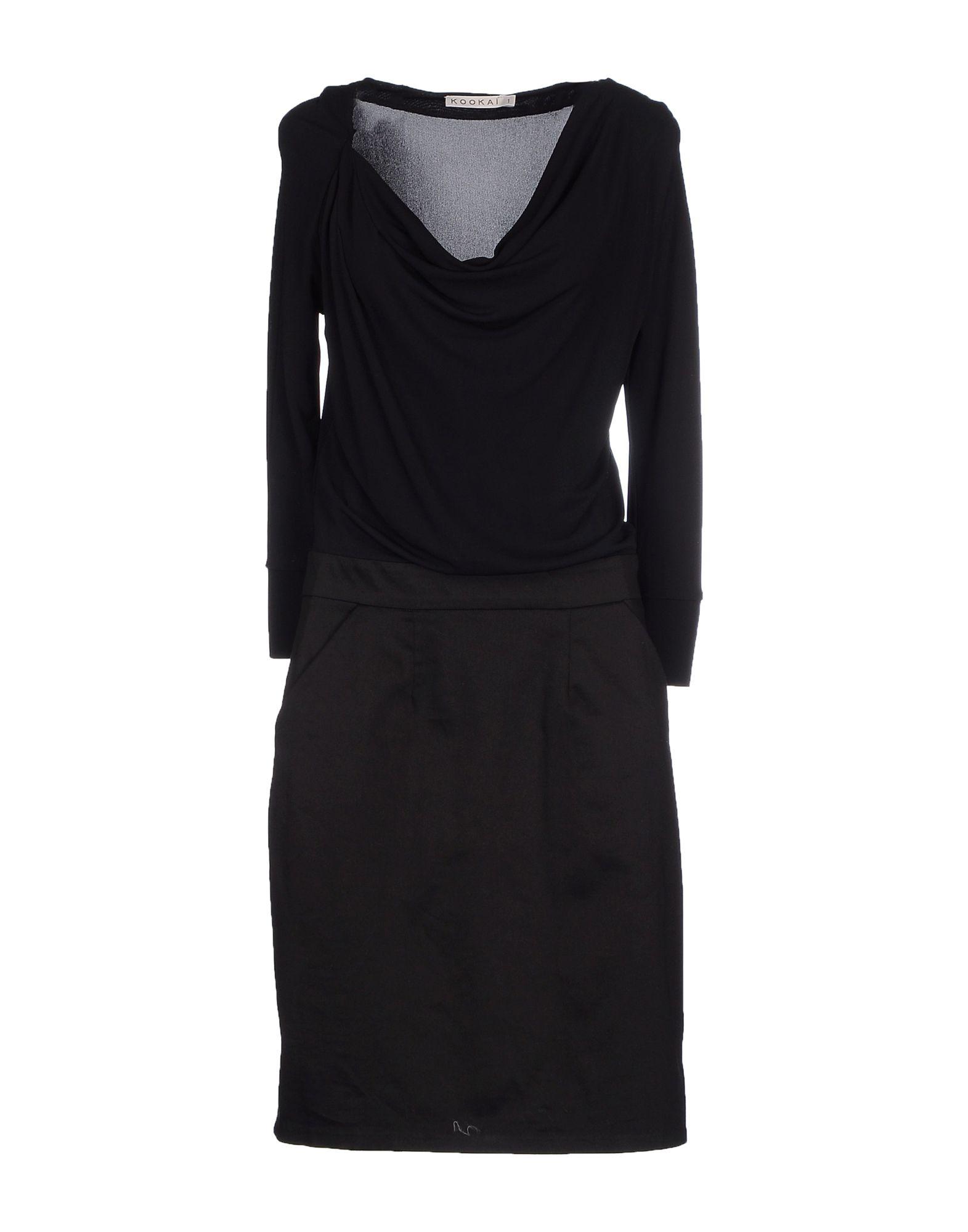 цена KOOKAI Платье до колена онлайн в 2017 году
