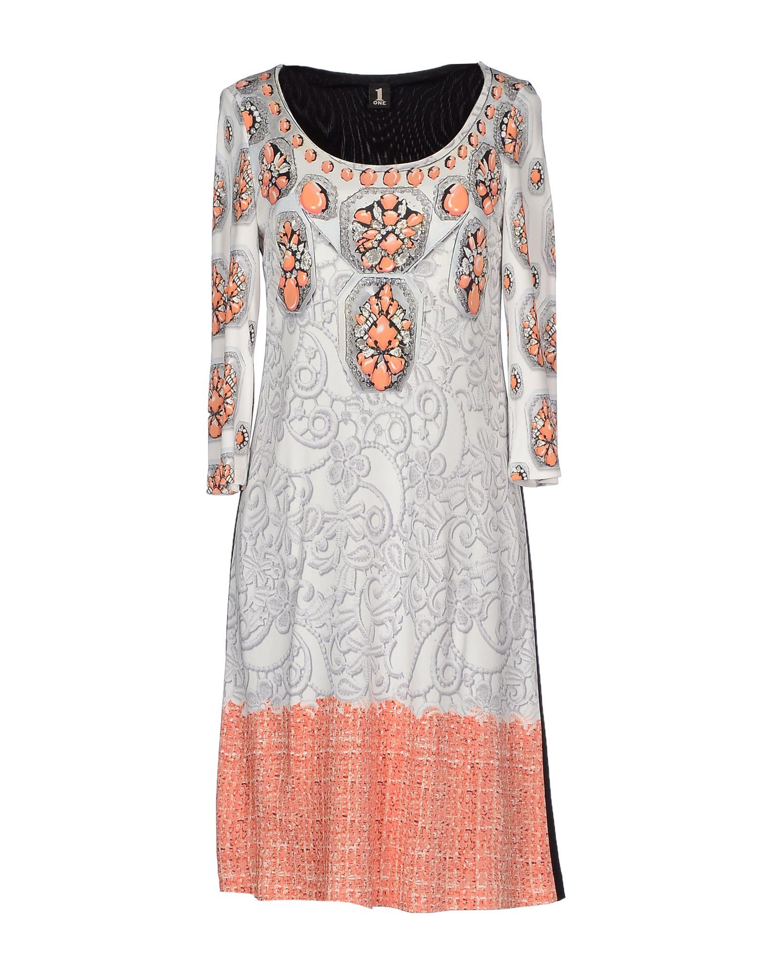 1-ONE Короткое платье lisa corti короткое платье