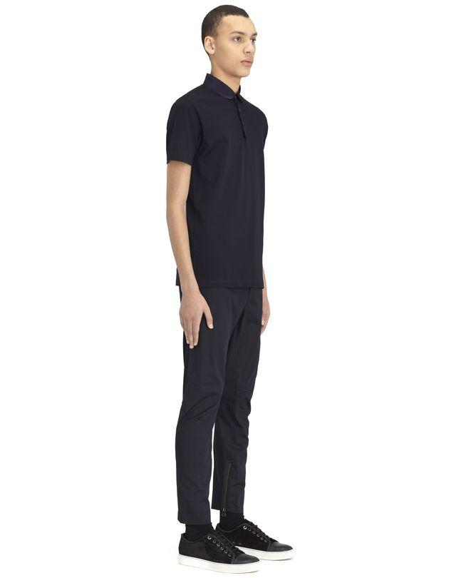 LANVIN SLIM-FIT PIQUÉ POLO SHIRT Polos & T-Shirts U e