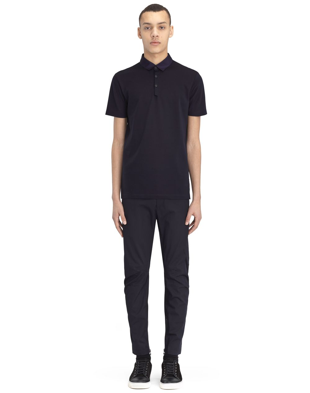 SLIM-FIT PIQUÉ POLO SHIRT - Lanvin