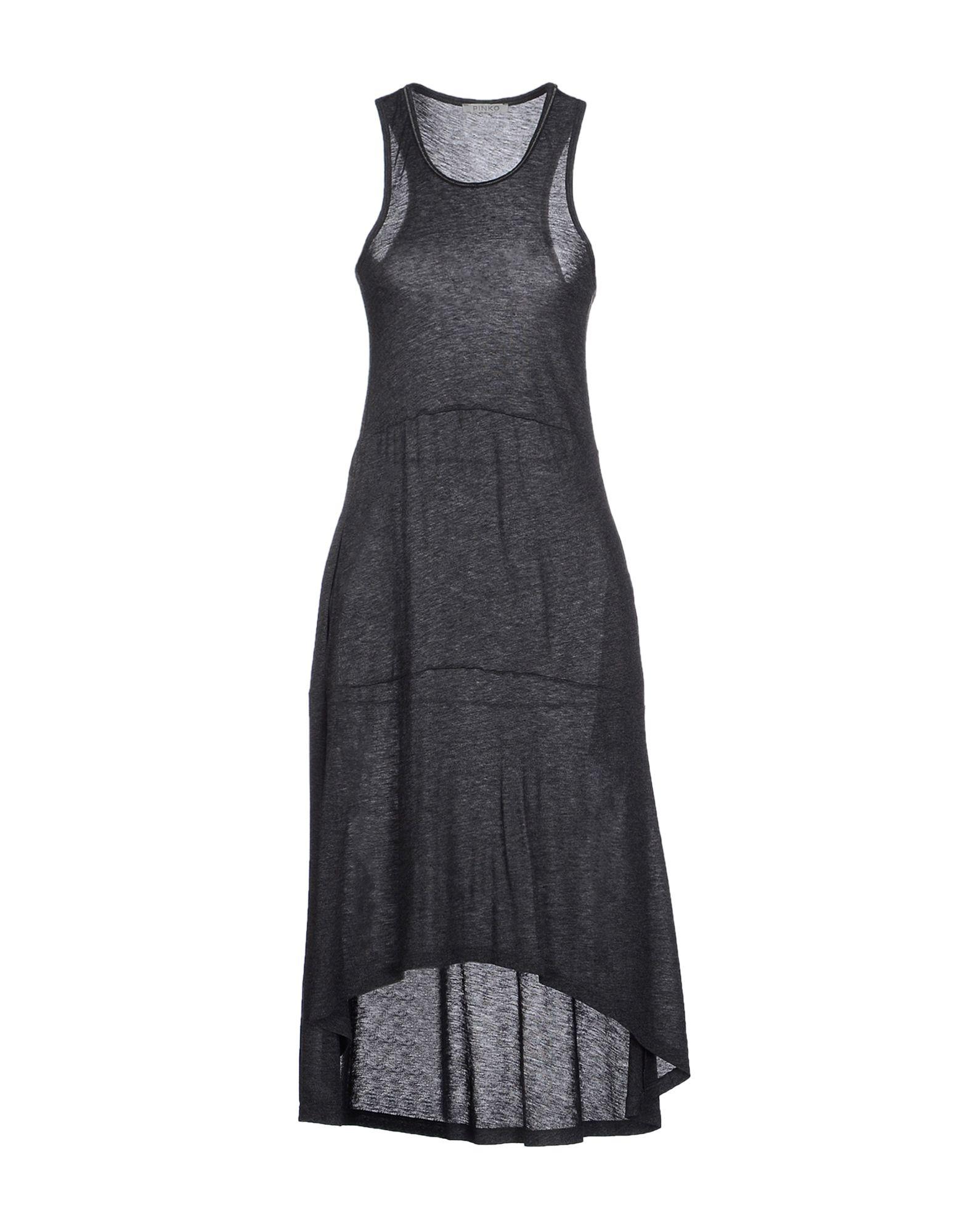 PINKO GREY Платье до колена платье grey cat grey cat mp002xw0nydd