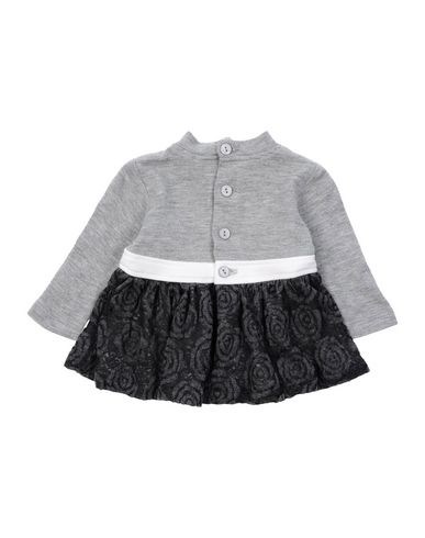 ALETTA Baby Kleid Grau Größe 1 44% Viskose 18% PES - Polysulfone 16% Polyester 14% Baumwolle 8% Polyamid