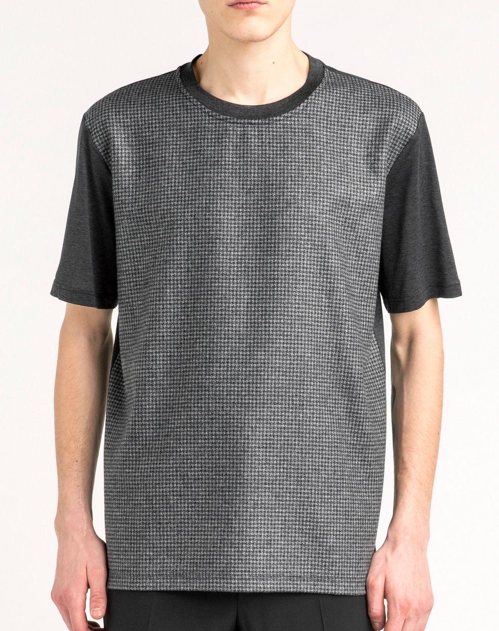 Splendida T-shirt pied-de-poule  - Lanvin