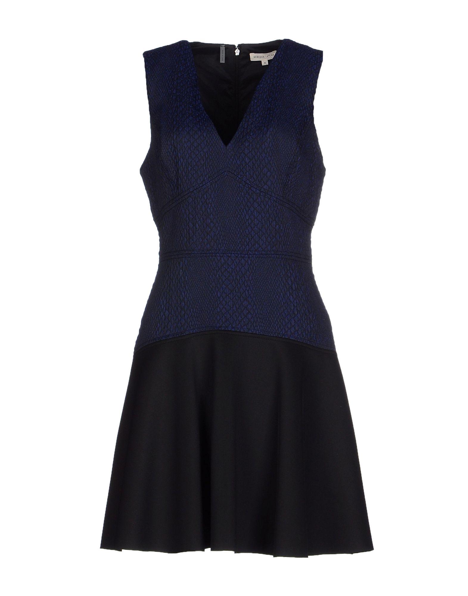 REBECCA TAYLOR Короткое платье сумка rebecca minkoff rebecca minkoff re035bwoau95