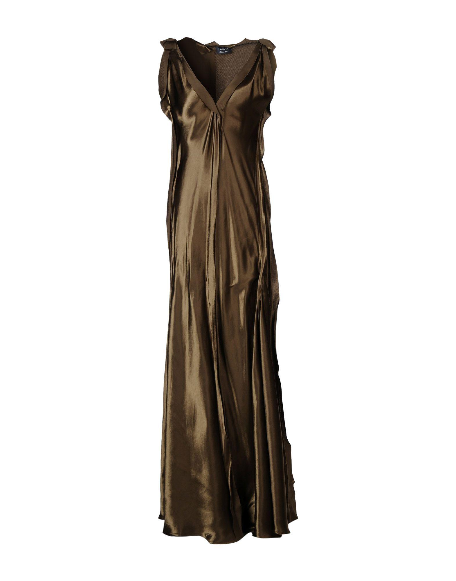 LANVIN Длинное платье elsy платье