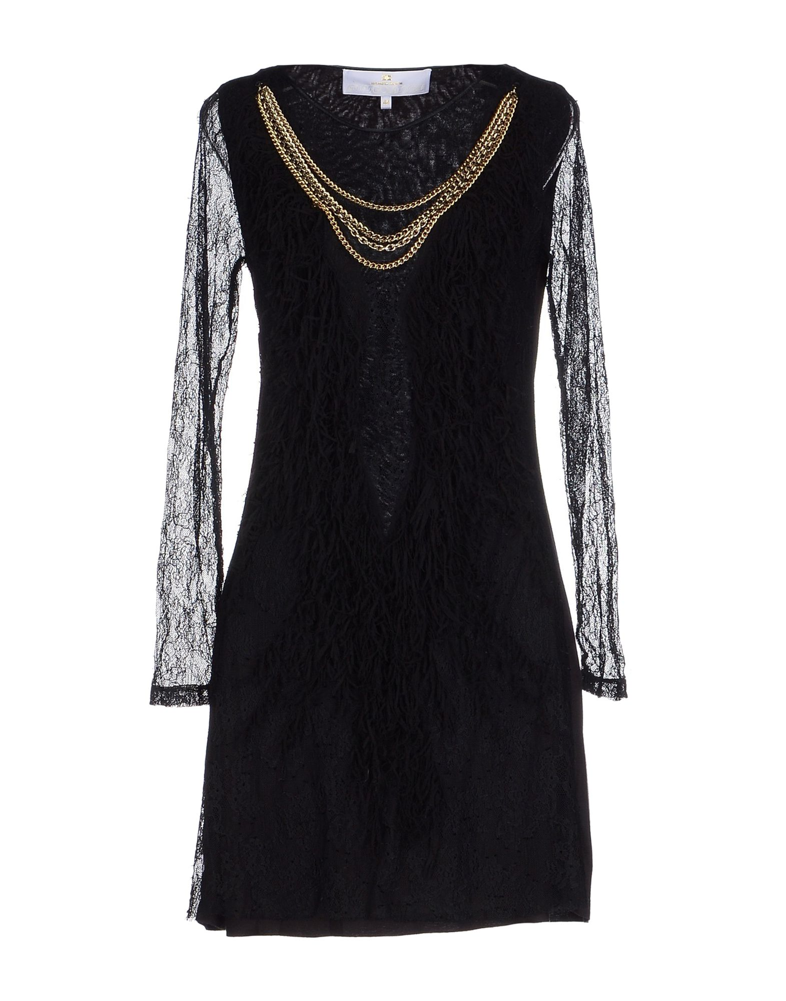 ФОТО elisabetta franchi gold короткое платье