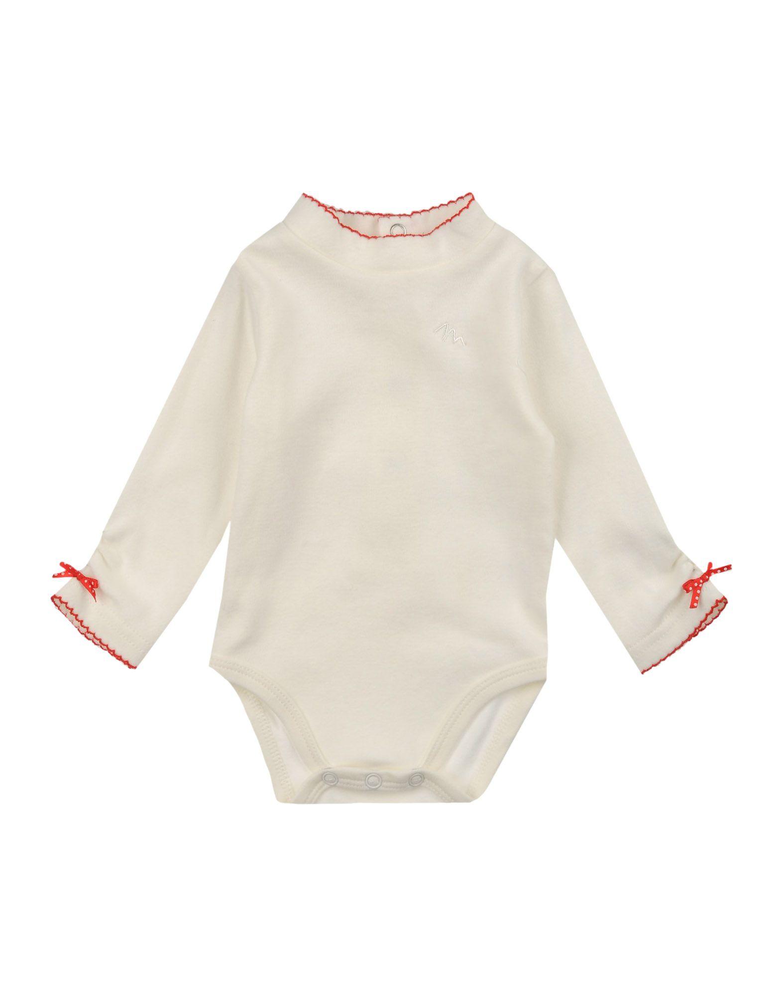 MIRTILLO Mädchen 0-24 monate Body Farbe Weiß Größe 3