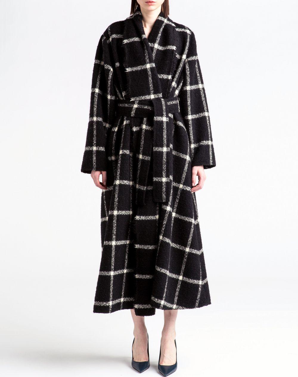 Curled wool coat - Lanvin
