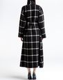 LANVIN Outerwear Woman Curled wool coat f