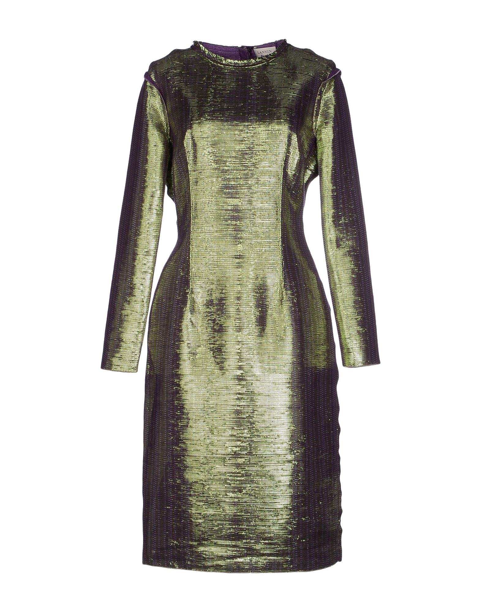 LANVIN Платье до колена цена 2017