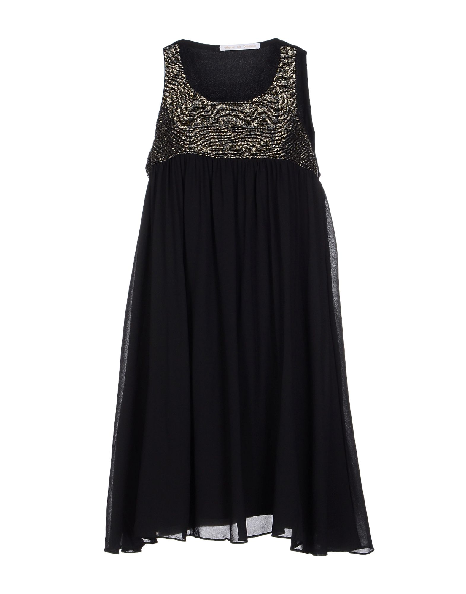 цена MAGASIN DES DEMOISELLES Короткое платье онлайн в 2017 году