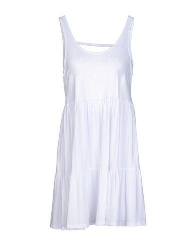 Фото - Женское короткое платье BOBI белого цвета