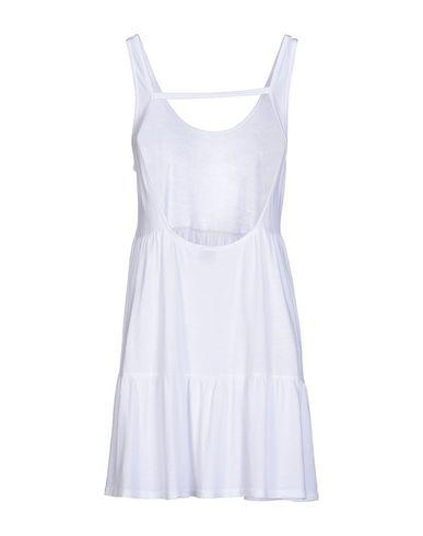 Фото 2 - Женское короткое платье BOBI белого цвета