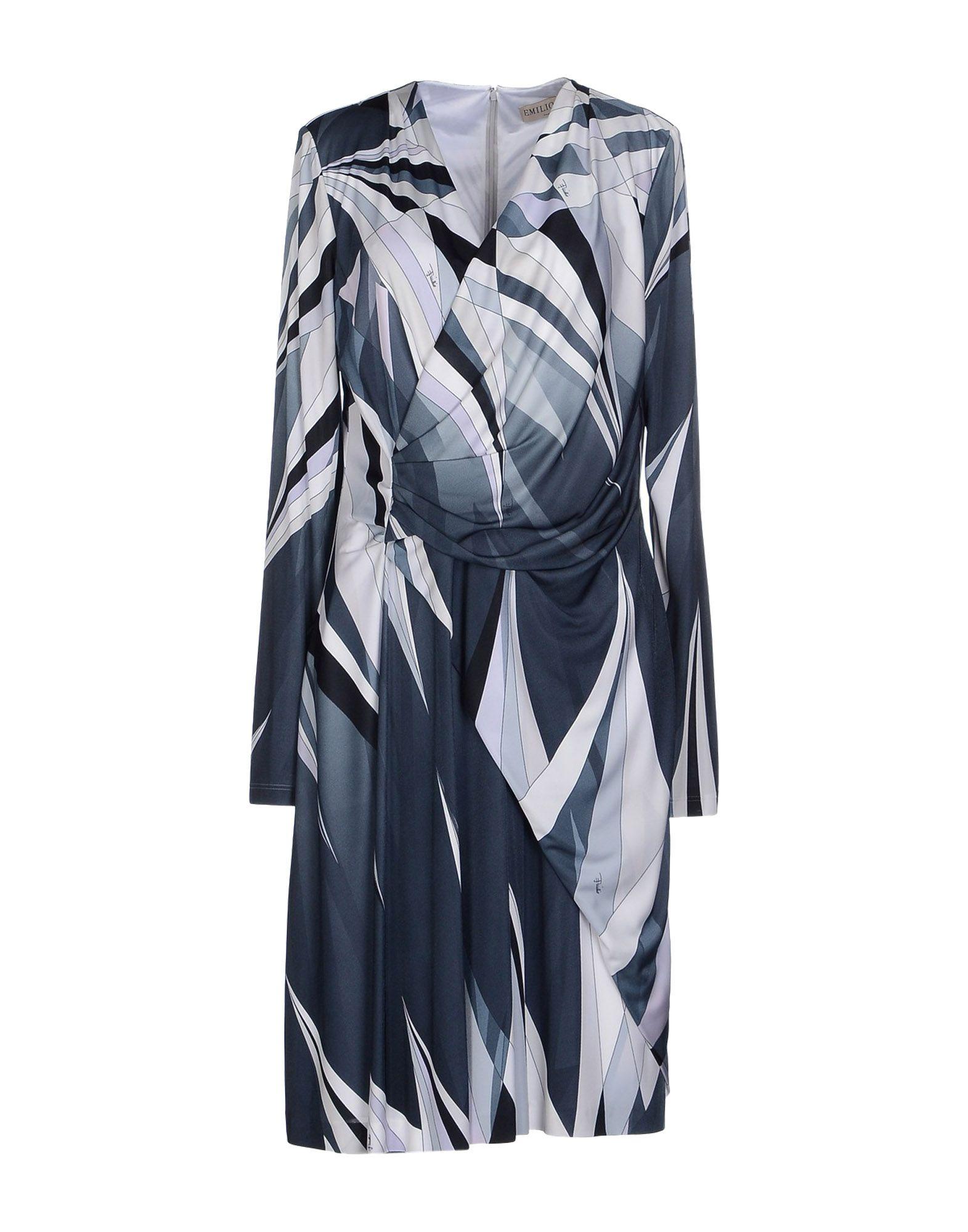 купить EMILIO PUCCI Платье до колена по цене 47700 рублей