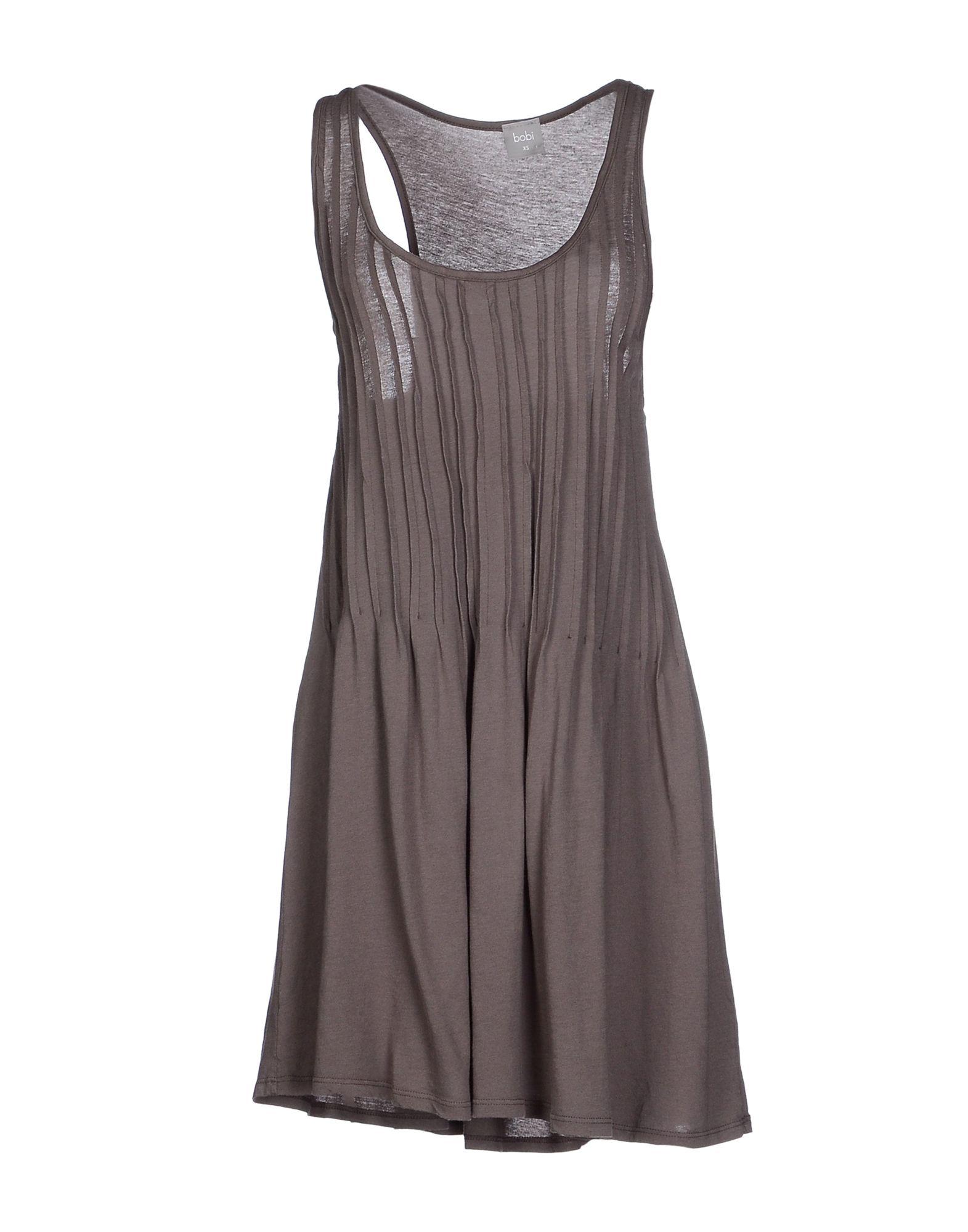 BOBI Короткое платье bobi платье длиной 3 4