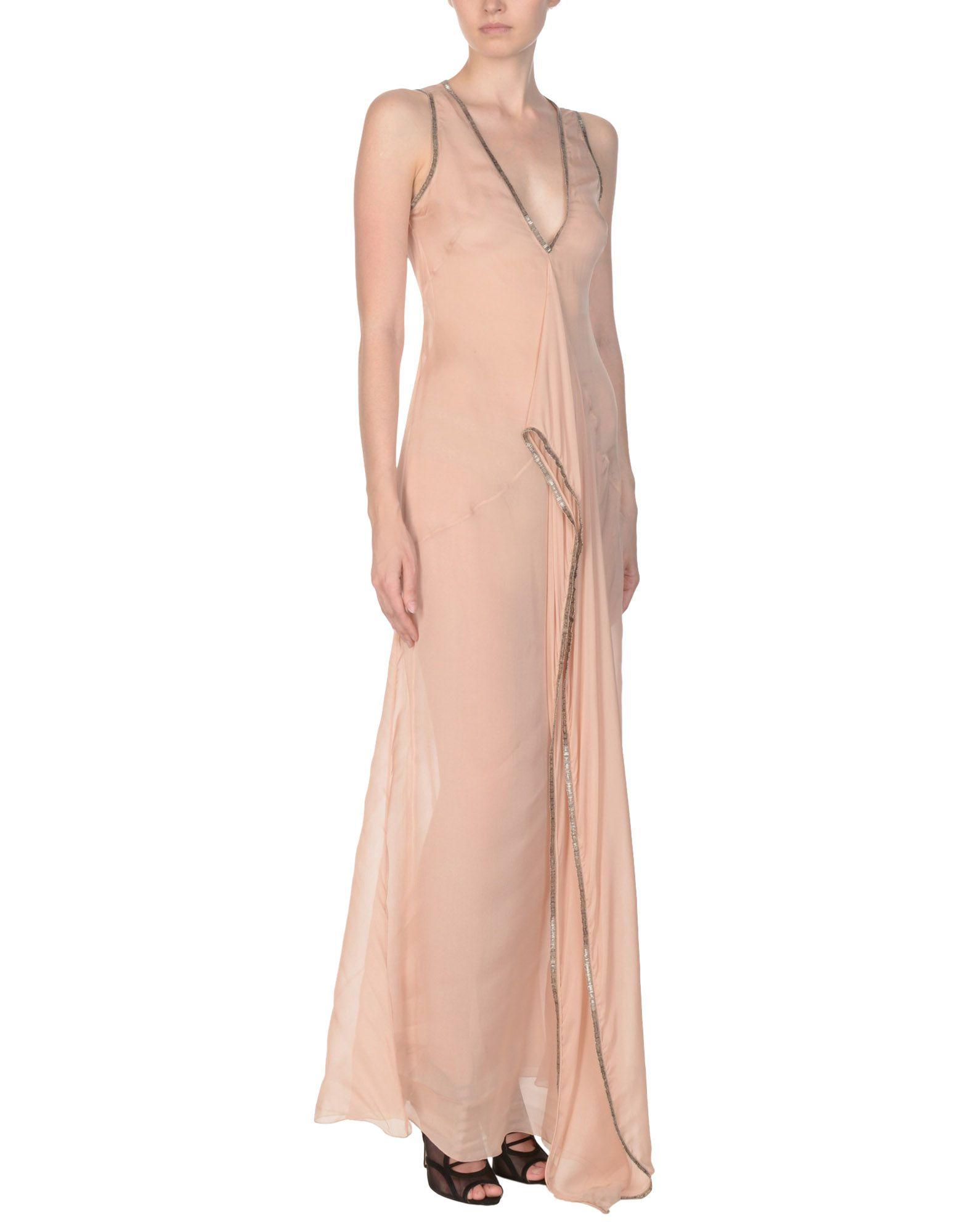 PHILOSOPHY di ALBERTA FERRETTI Длинное платье платье af philosophy di a ferretti платья и сарафаны приталенные