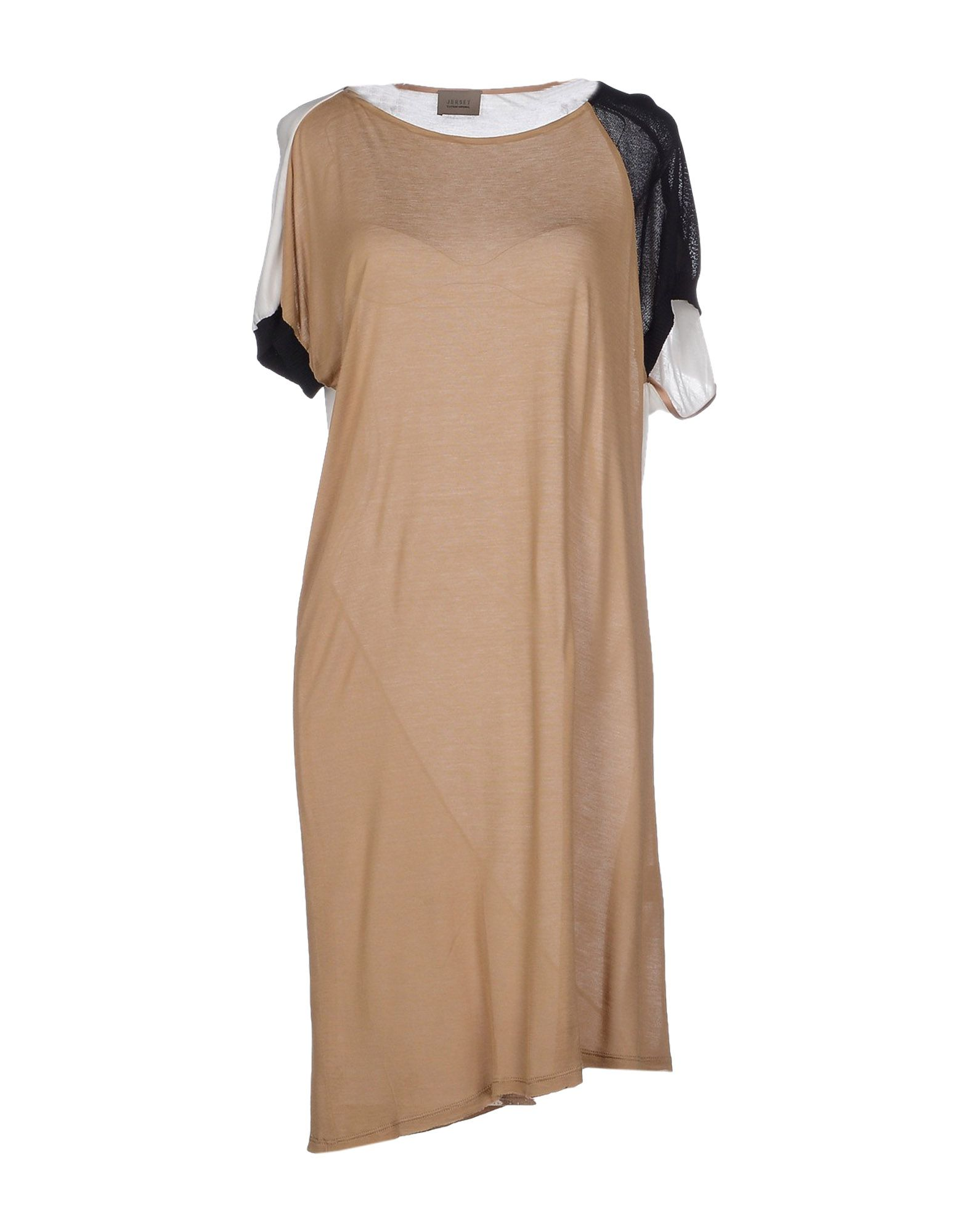 цена JERSEY COSTUME NATIONAL Короткое платье онлайн в 2017 году