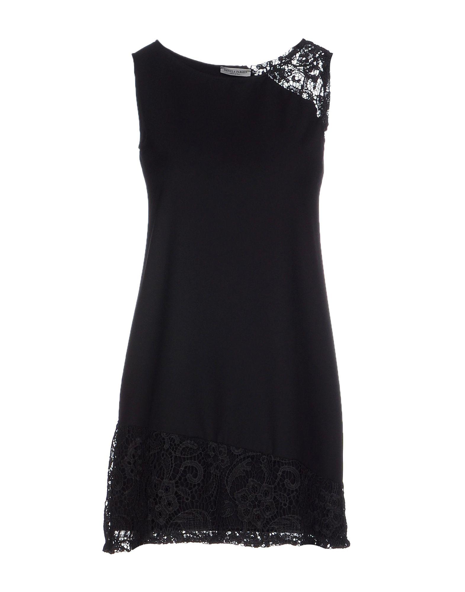 купить DANIELA FARGION Короткое платье дешево